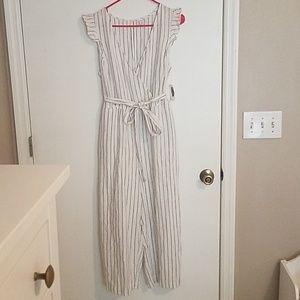 NWT Old Navy Linen Blend Jumpsuit
